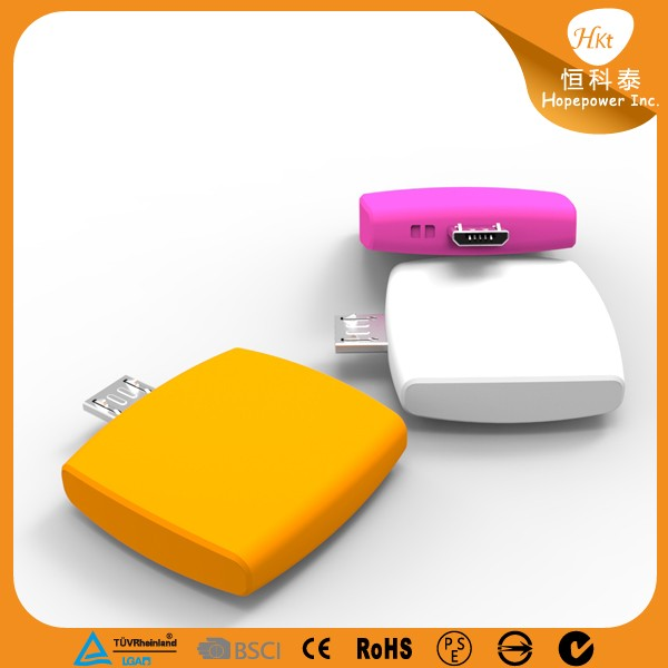 Cute power bank with dual usb phone charger powerbank made in Shenzhen