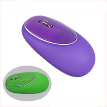 Soft Mini gift rubber mouse wireless silicone mouse