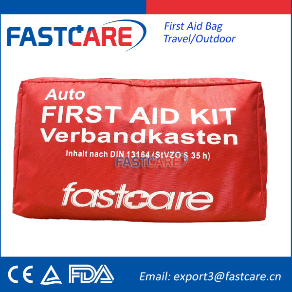 2014 Waterproof Nylon Car First Aid Kit Bags With DIN13164
