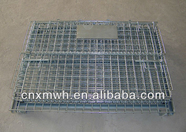 Collapsible Pallet Container Cage Wire Mesh Stillage Cage
