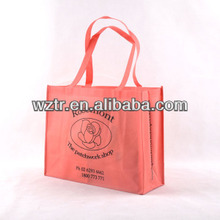 cheap wholesale reusable pp non woven shopping bags from china factory