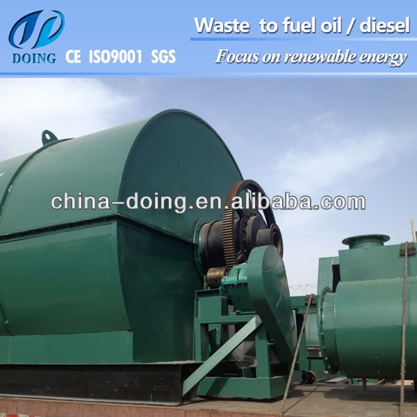 Low Investment And Quick Feedback Energy Conservation Of Tire Recycling Machine