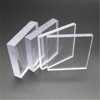 Plastic building material SGS approved ge lexan cheap transparent hollow polycarbonate sheet