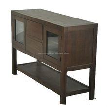 handmade solid wood complete sets TV cabinets