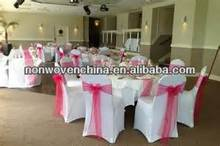 cheap wedding spunbond nonwoven chair covers