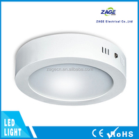 40mm Round LED Ceiling Light Ripple Free Driver Ip40 Pf>0.9 3 Years Warranty