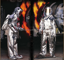 TOP QUALITY HEAT PROTECTION WEAR ALUMINIZED FIRE PROXIMITY SUIT