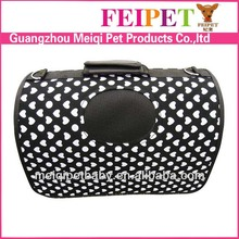 wholesale pet products dog carrier washable pvc dog carry bag