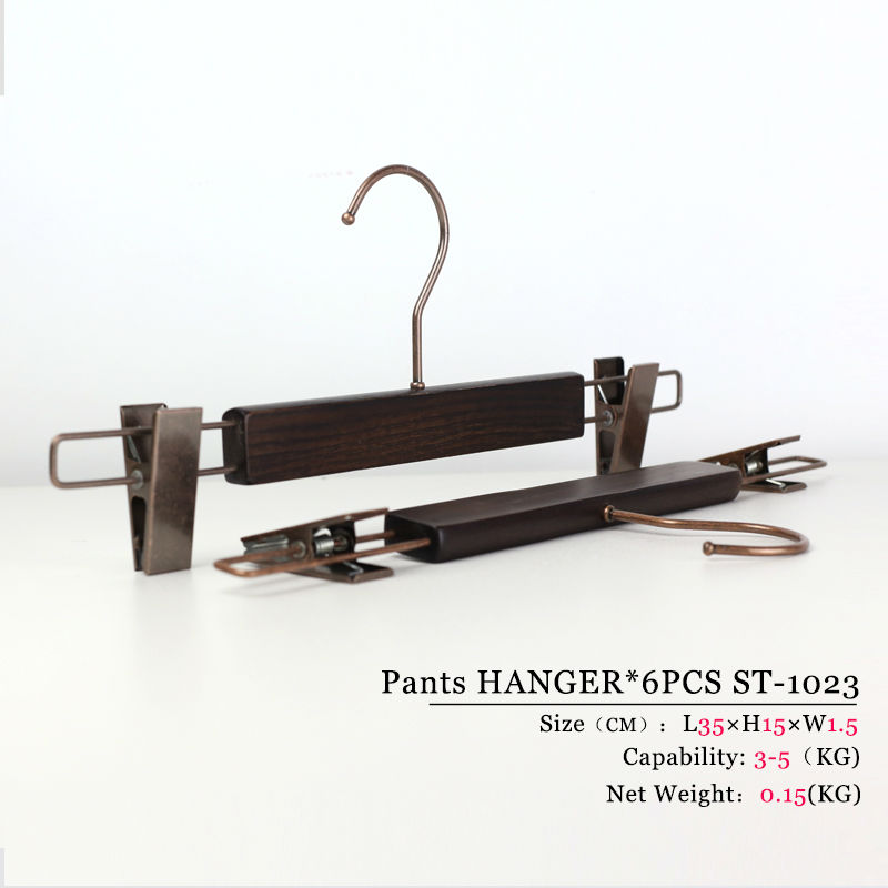 high quality clip bottom trouser hanger