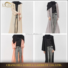 Low price high quality muslim dubai front open abaya fancy open abaya maxi dress islamic clothing