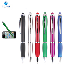 Multi-functional OEM new model metal advertising plastic stylus touch screen logo personalized promotional custom ball pen