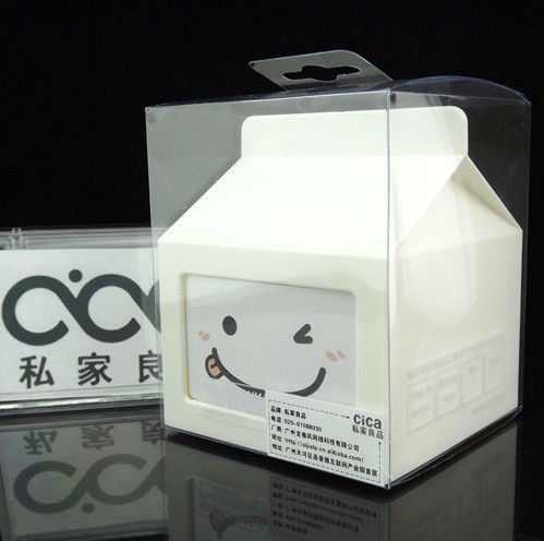 Plastic money box with photo frame