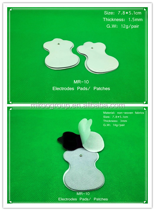 Self Adhesive Electrodes Pads For Electronic Pulse ...