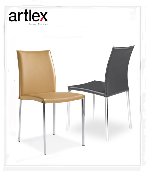 modern leather dining chair artlex ALC-1111