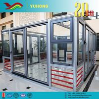 Designed Cheap High Strength Commercial Automatic Sliding Glass Doors