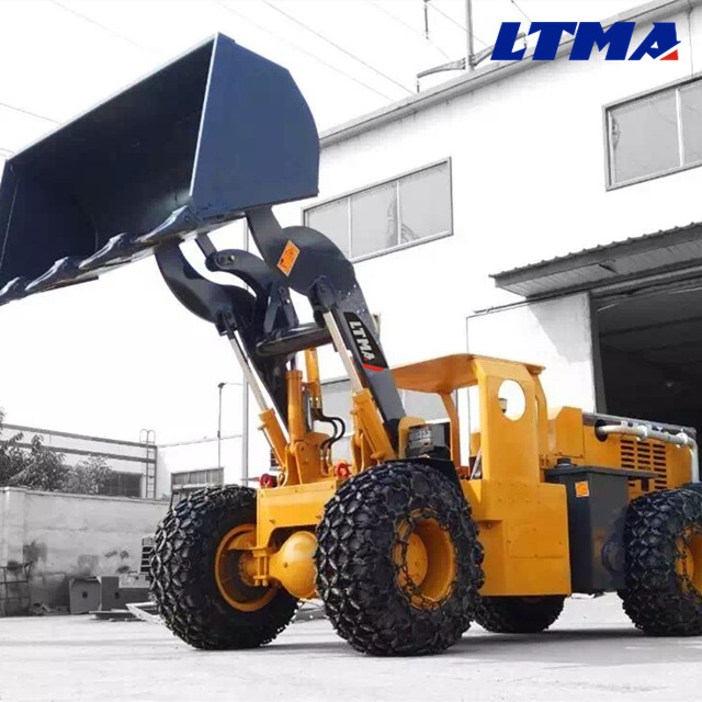 Heavy construction equipment 2 ton mini wheel underground loader