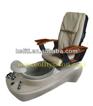 Versas foot spa pedicure chair, nail salon equipment pedicure bench