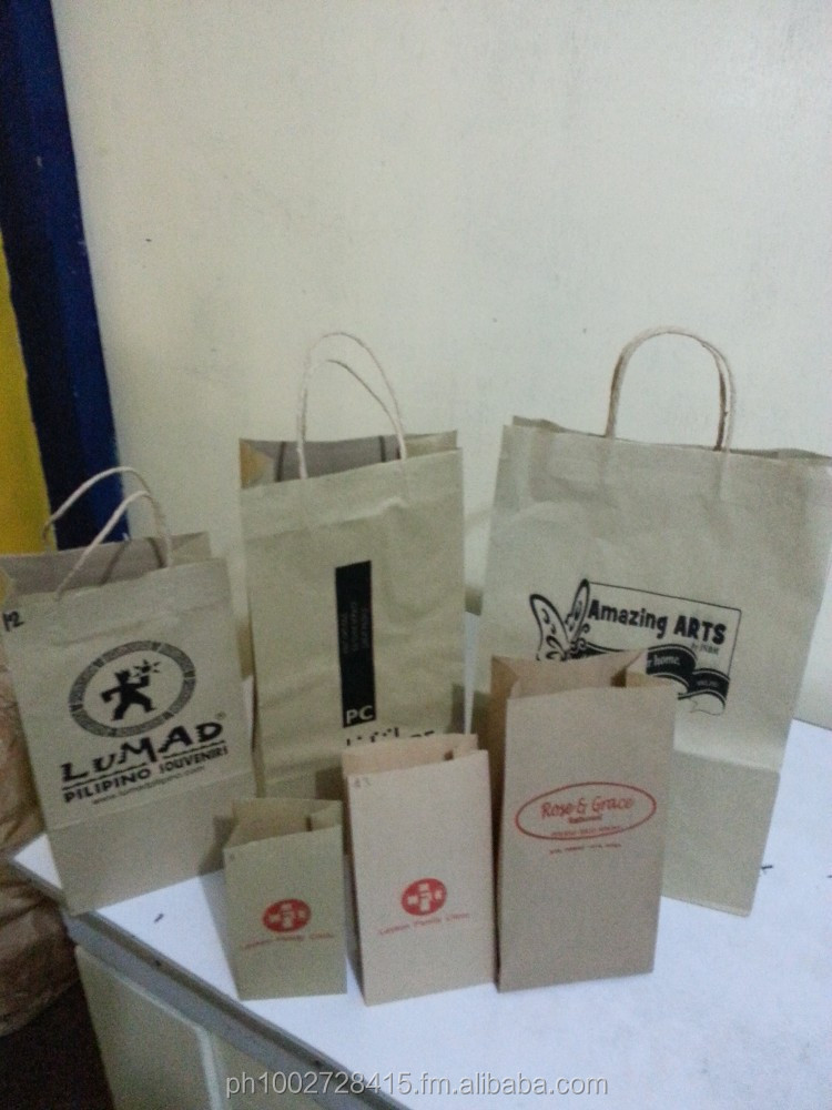 Kraft Paper Bag or Supot Manufacturer