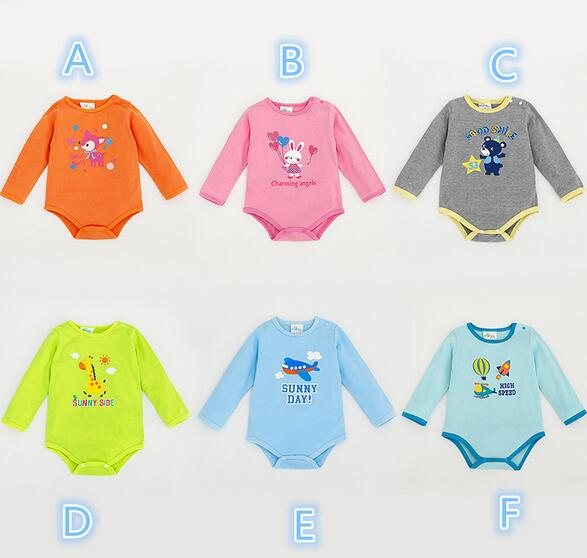 Custom Newborn Baby Clothes Carters Cotton Baby Rompers for 0-12M