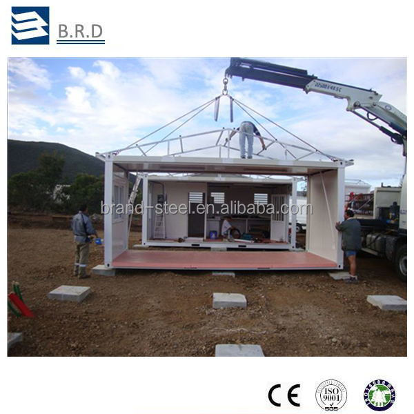 Sandwich Panel Steel Structure Mobile Living House Container for Sale