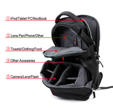 Camera Bag DSLR SLR Laptop Backpack Rucksack Bag Case For Nikon Sony Canon Black