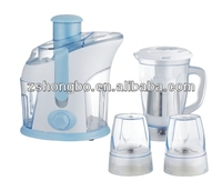 Juicers HB-F18, 4 in1-Juicer, Fruit and Vegetable Juice Extractor with Custom Juice Cup