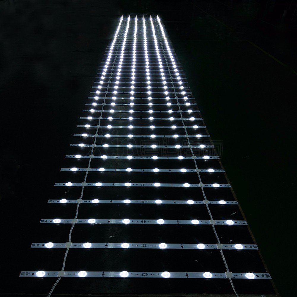 Cost-optimal tv lens LED curtain backlight light smd2835 LED rigid strips