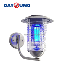 Multifunctional Solar LED Light Super Capacity Mosquito Fly Bug Insect Trap Night Lamp Killer Repellent Zapper Home Balcony