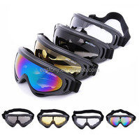 Outdoor Winter Sports Snowboards Motorcycle Bike Skiing Racing Sports Single Lens UV Windshield Goggles Glasses