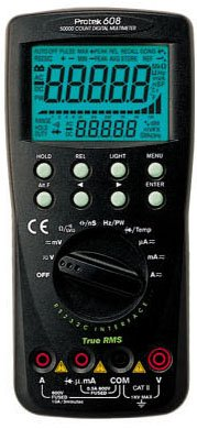 Digital MultiMeter (Handheld) Protek 608