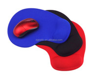 Comfortable Silicone Mouse Pad With Gel Wrist Support