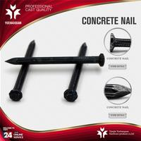 Professional electro galvanized concrete steel nails wood nail 1 inch with great price