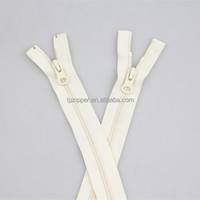Long Chain Double Sided Nylon Zipper for Sale