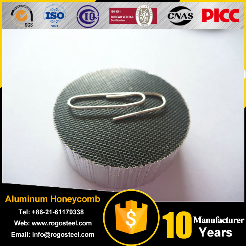 side length 0.4mm-20mm cleanroom aluminum honeycomb panel/4mm composite with A3003/A5052/A1100