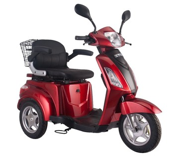 electric three wheel scooter for old or disabled, made in GUOWEI China