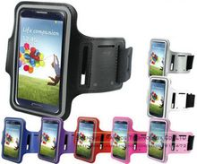 Neoprene Sports Gym Armband Carrying Key Holder Case Capa Para de Celular for iPhone 6 Plus 5.5