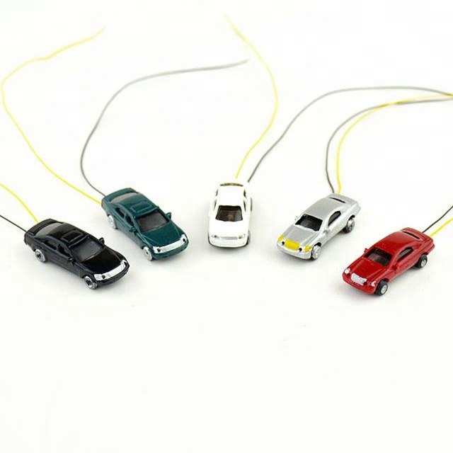 <strong>1</strong>:220 <strong>Z</strong> scale miniature plastic diecast lighting model cars