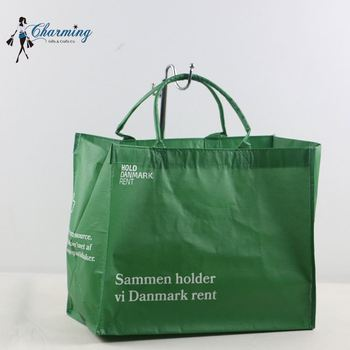 New coming simple design recycled rept outdoor shopping handle bag