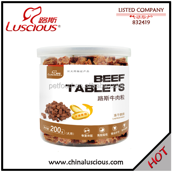 Dry Beef Dice Freeze Pet Food