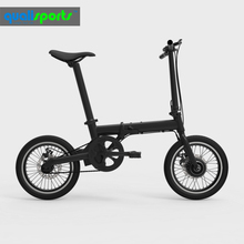 Pretty lady love light weight 14kg 250w 16 inch portable mini folding electric bike