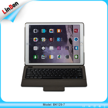 For iPad Pro 12.9 inch PU Leather Case Wireless Bluetooth Keyboard Protective Cover