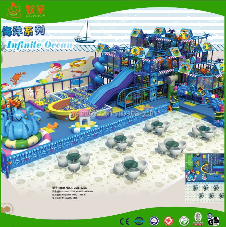 kids Indoor Playground for sale ocean theme
