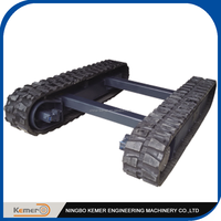 4 ton Rubber Crawler Track Undercarriage/Rubber Chassis