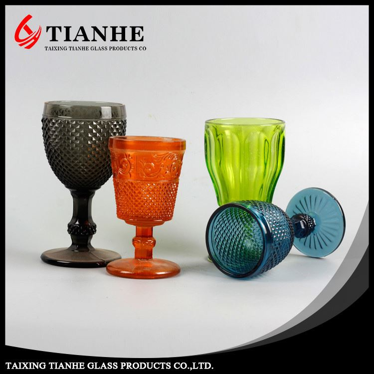 Tianhe excellent quality customed environmental-friendly water cup glass