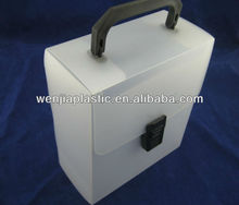 plastic file box with handle