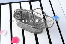 2013 hot sale stainless steel fruit wire baskets for wine bottles