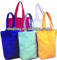 10oz Cotton Canvas Tote Bag Wholesale casual style simple hand bag for women