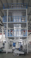 blow moulding film ABC 3layer Co-Extrusion Blown PE Film Machine full-auto three layer coextrusion film blowing machine