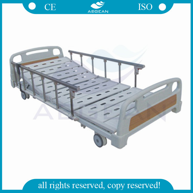 AG-BM100 CE ISO electric with lowest position nursing care bed