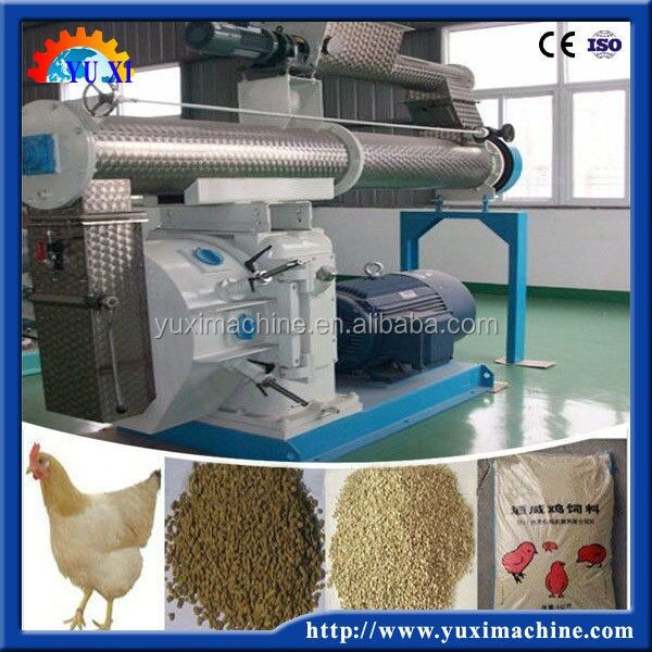 For livestock and poultry farming fodder Homemade feed pellet mill /Ring die animal feed making mill/Poultry feed press machine